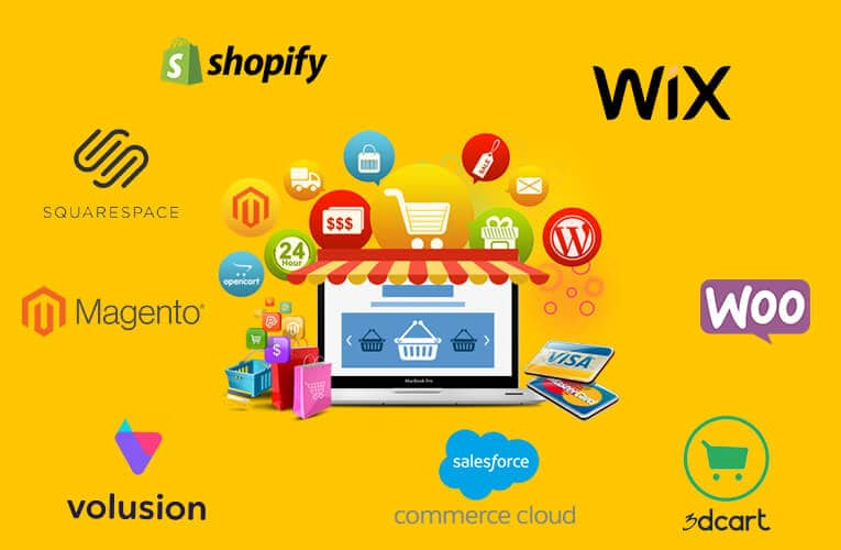 Top 10 Best eCommerce Platforms in 2021    Features, Uses with Pros and Cons 2