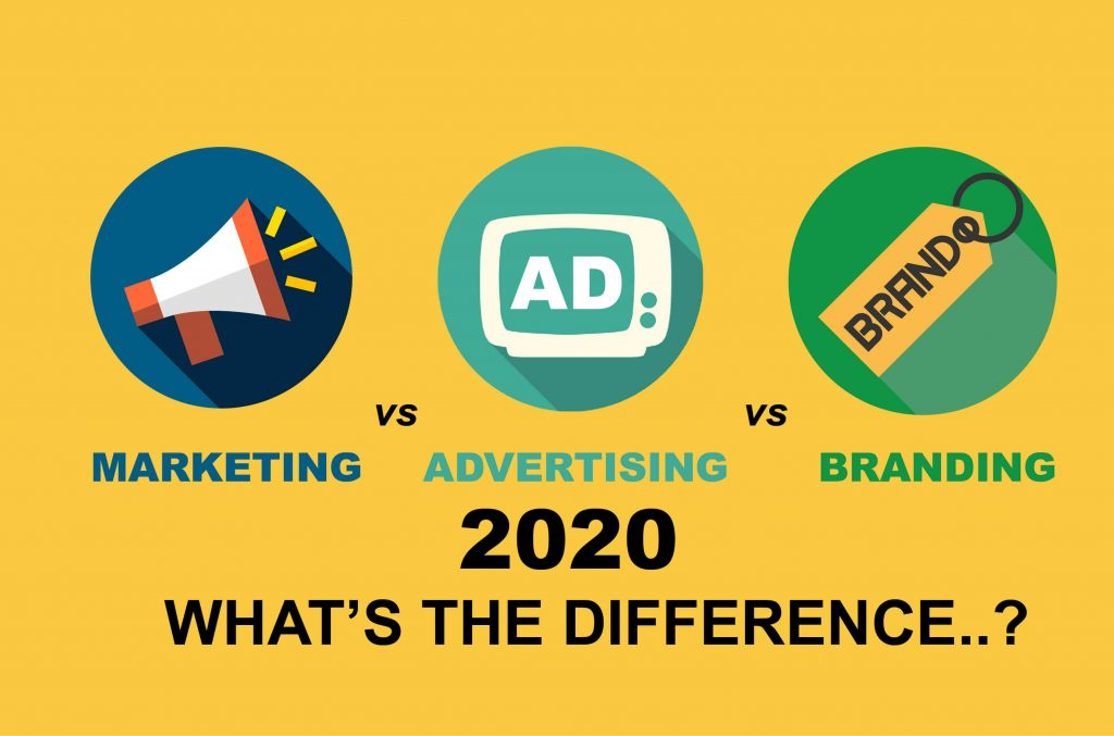 Marketing vs Advertising vs Branding in 2020 || What's the difference 2
