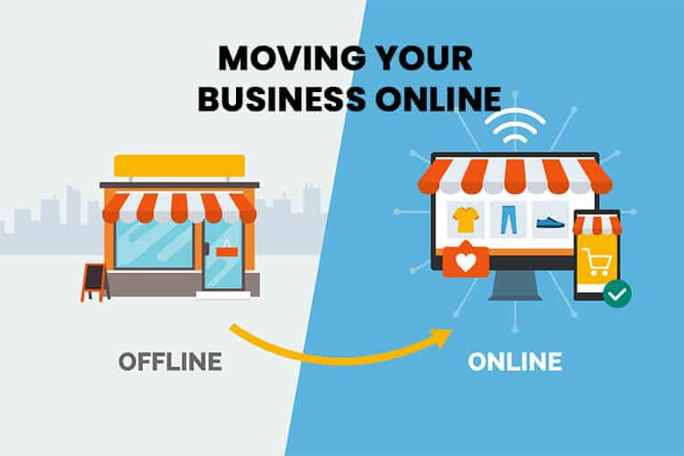 Moving Your Business Online : How to Get Your Offline Business Online 1